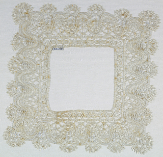 Border for a handkerchief.