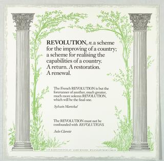 Print, Revolution, 1986