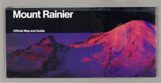 Map, Mount Ranier National Par