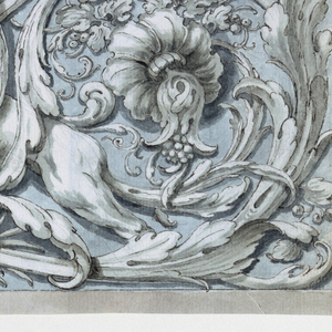 Drawing, Frieze with Fantastic Win