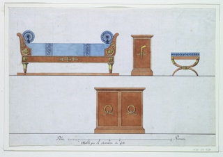 Drawing, Bedroom Furniture