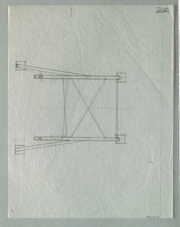 measured design for chair.
