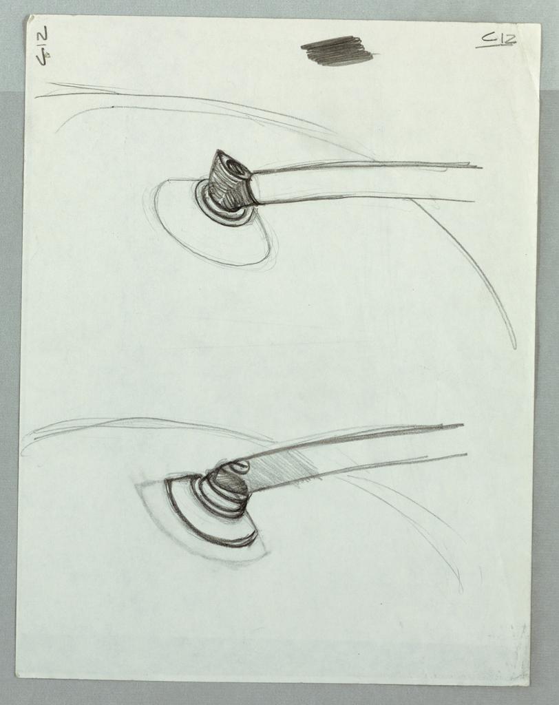 Sketches for cone connectors.