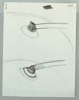 Sketches for cone connectors.