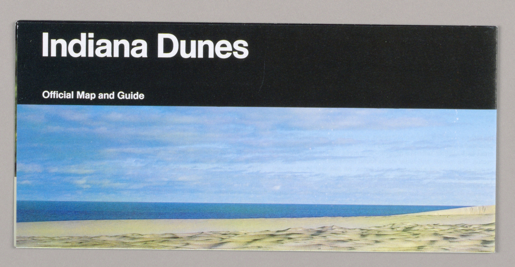 Map, Map for National Parks Service: Indiana Dunes, 1991