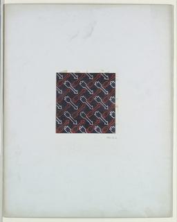 Drawing, Arrow Motif, textile Design