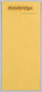 Envelope, Drawbridge