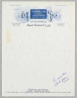 Letterhead, S. Appel & Co., Inc.