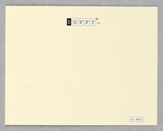 Card, Duffy Inc., ID