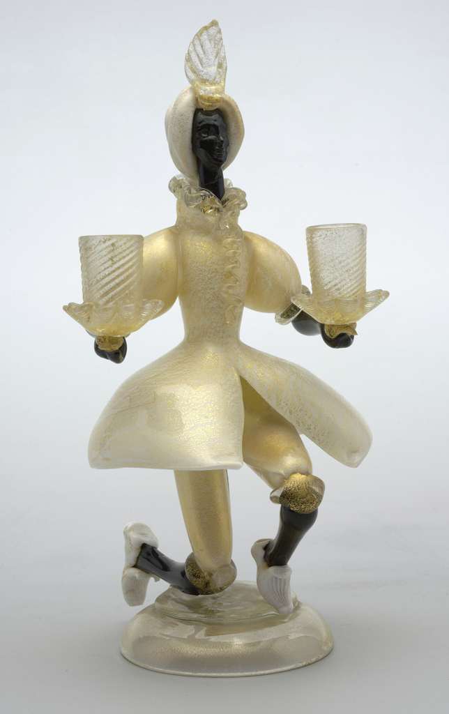Candleholder, Figural (Italy), ca. 1930