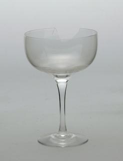 Champagne saucer (broken)