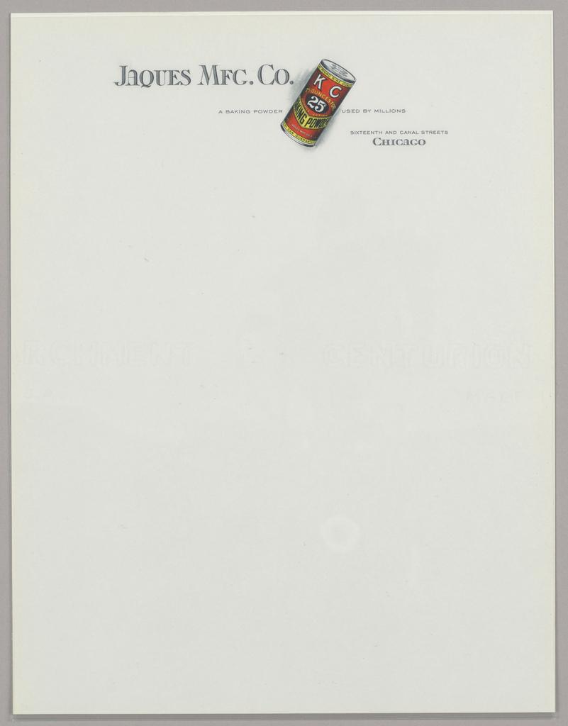 Print, Design for Letterhead: Ja, ca. 1940–65