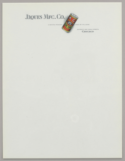 Print, Design for Letterhead: Ja, ca. 1940–65