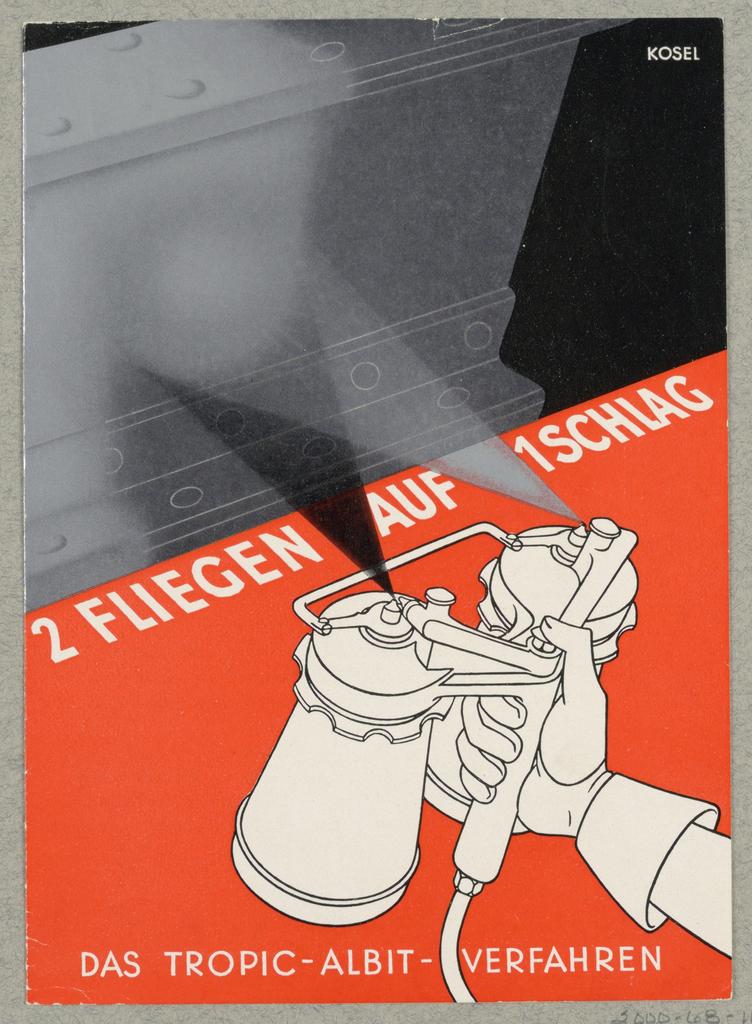 Brochure, 2 Fliegen auf 1 Schlag, Tropic - Albit-Verfahren