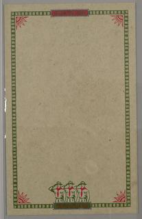 Letterhead, Ralph Lauren/Chaps ID (scouts), 1987–1988