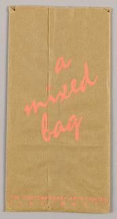 Shopping Bag, A Mixed Bag