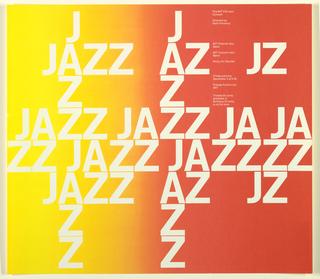 Poster, The MIT Concert Jazz Band, Kresge Auditorium, 1972