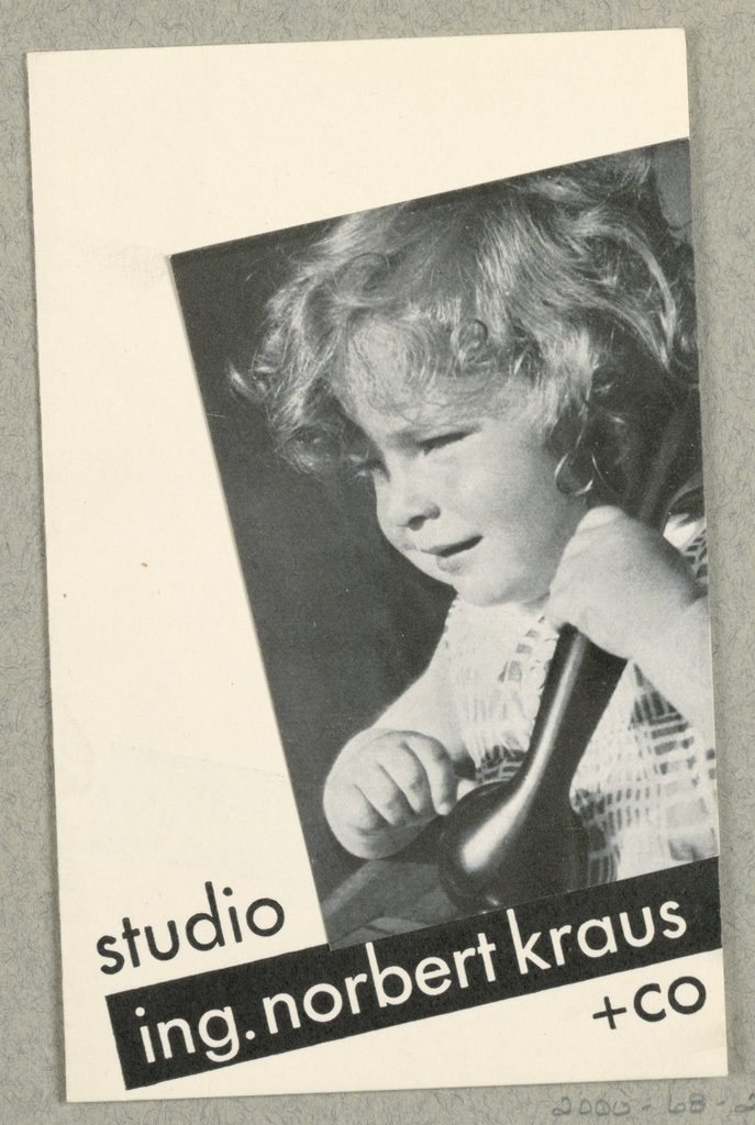 Business Card, Studio Ing. Norbert Kraus + Co