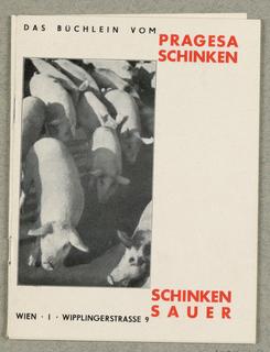 Booklet, Das Buchlein vom Pragesa Schinken, Schinken Sauer