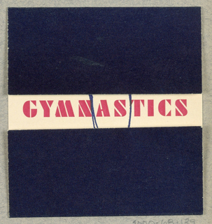 Announcement, Gymnastics Will Make You Young & Healthy, Cillipam