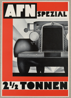 Brochure, AFN Spezial 2 1/2 Tonnen