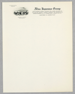Letterhead, Aetna Insurance Group