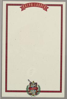 Letterhead, Ralph Lauren/Chaps ID (tennis player)