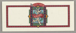 Folding Card, Ralph Lauren/Chaps ID (tennis player)