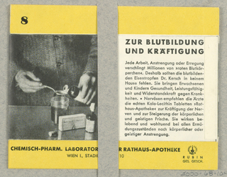 Brochure, Die Hausapotheke, Chemish-Pharm. Laboratorium der Rathaus-Apotheke