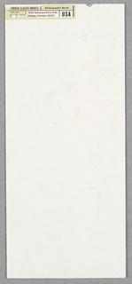 Print/business Envelope, Business Envelope: Turner, ca. 1994