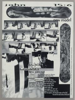 Advertisement, Burton Snowboard Madonna, 1993