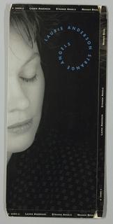 Cd Packaging, Laurie Anderson, Strange Angels