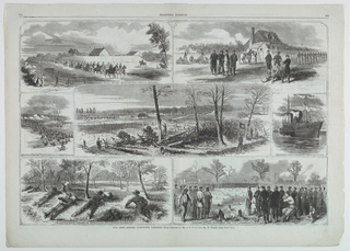 Seven scenes of the Army before Yorktown