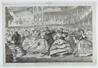 Print, The Great Russian Ball at the Academy of Music, November 5, 1863, November 21, 1863