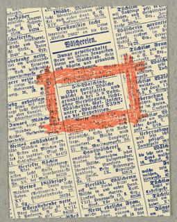 Brochure, Ihre Wasch - Ihr Bermogen