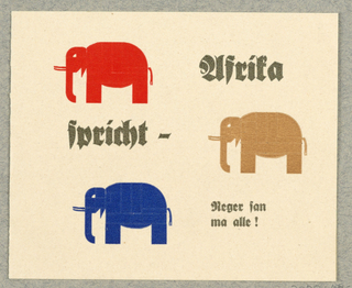 Announcement, Spricht - Afrika