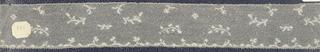 Bobbin lace border, sparse floral; mid-18th century, Valenciennes