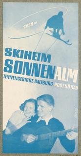 Announcement, Skiheim Sonnenalm Tennengebirge Salzburg
