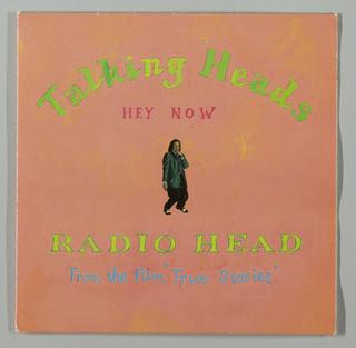 Album Cover, Talking Heads: Hey Now / Radio Head