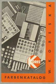 Booklet, W. Koreska Farbenkatalog Kores