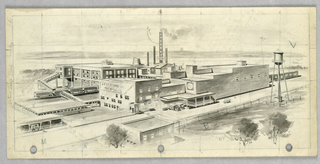 Drawing, East Tennesse Packing Co.