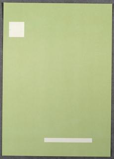 Letterhead, Inoue Associates, Inc., 1988
