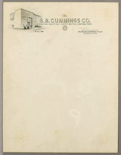 Drawing, Design for Letterhead: G., ca. 1940–65
