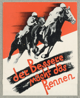 Brochure, Der Bessele macht das Rennen - Hoffman Bugelmaschinen Gesellschaft M.B.H., Wien