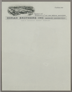 Letterhead, Designers and/Manufacture, ca. 1940–65