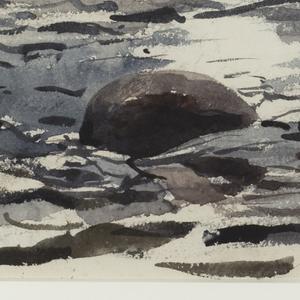 Drawing, Woodland Stream
