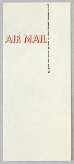 Envelope, Pierre Matisse Gallery Co