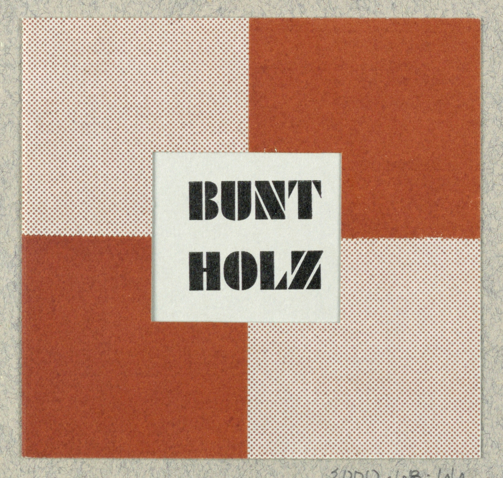 Business Card, Bunt Holz [Colored Wood]