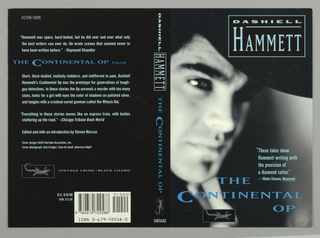 Book Cover, Vintage Crime: Hammett: The Continental