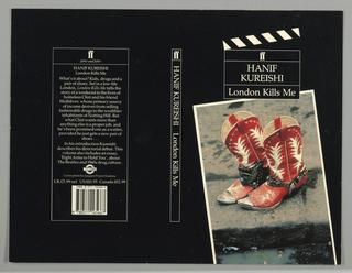 Book Cover, Film Series: London Kills Me